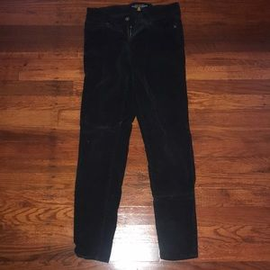 Lucky Brand corduroy black pants